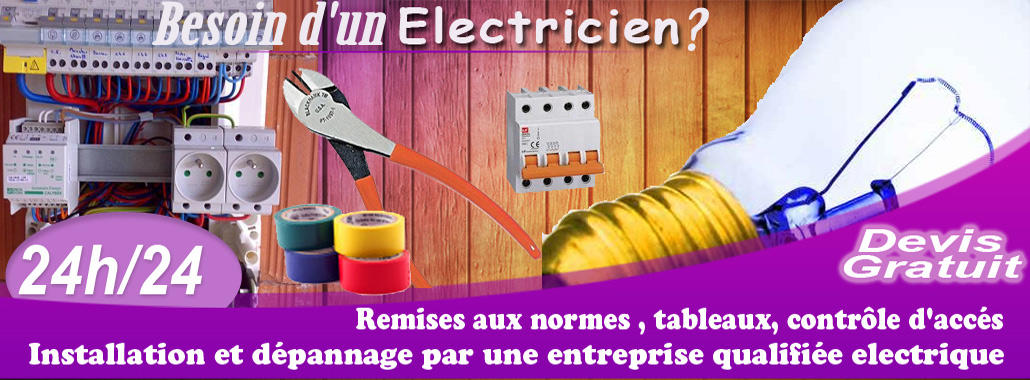 Technicien electricien batiment Paris 8, Paris installation Qui doit  Paris 8 01.46.59.10.39